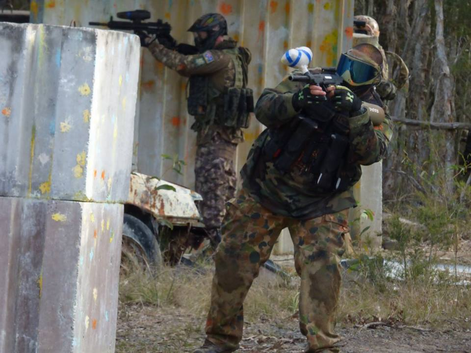hunter valley paintball party