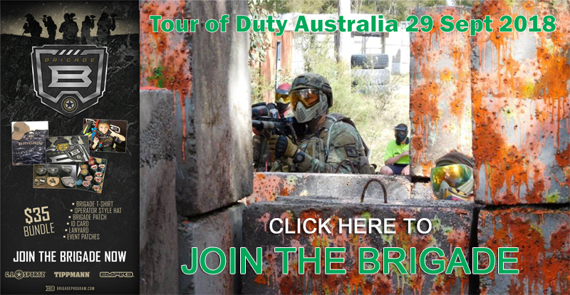 Paintball Brigade Tour of Duty Game Bookings