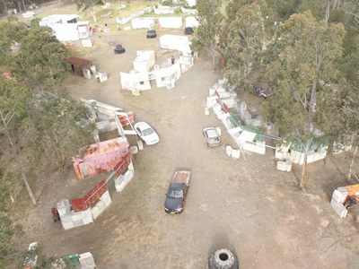 paintball newcastle aerial